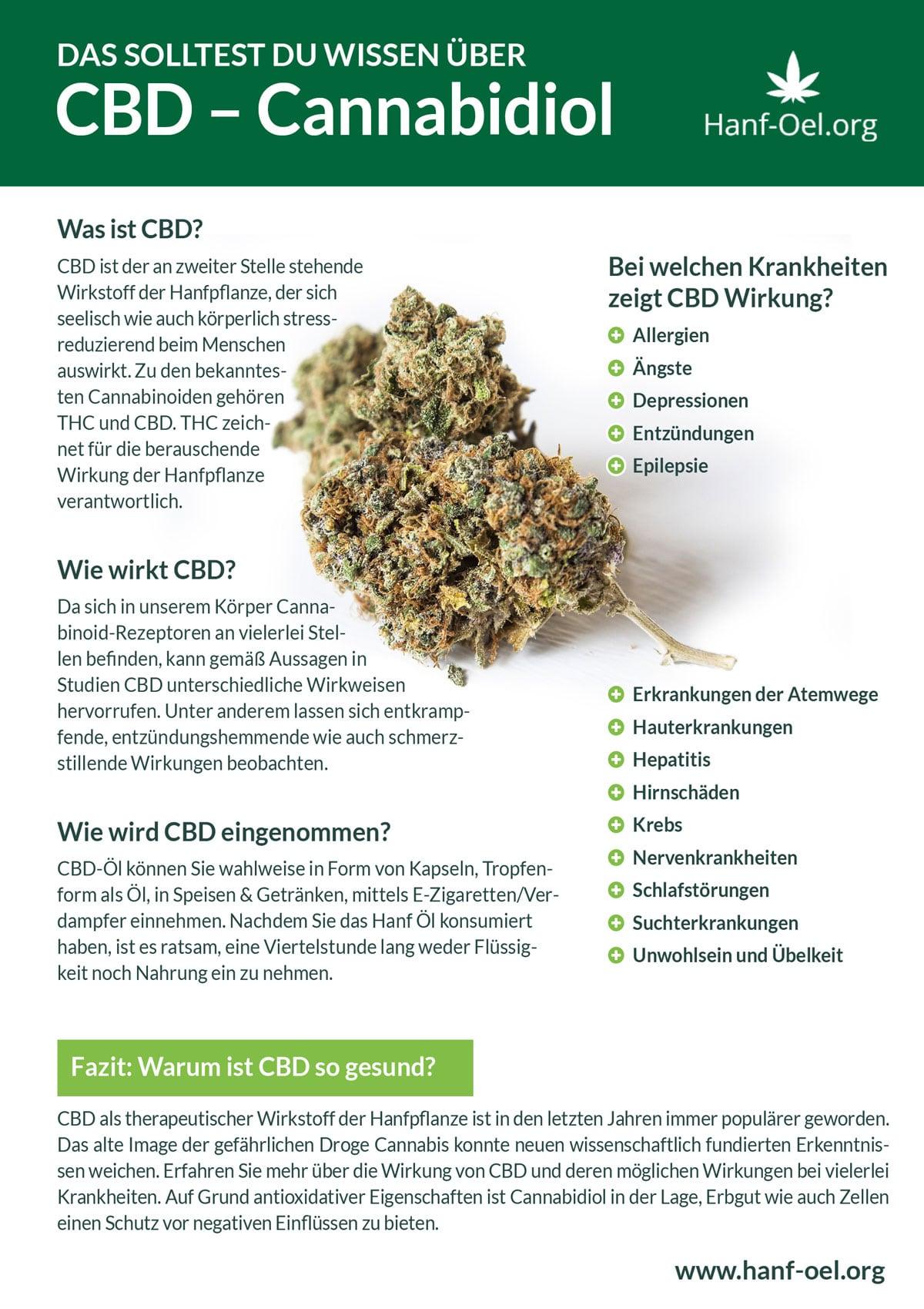 CBD Infografik